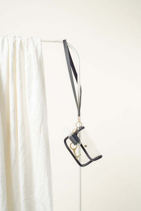 Elysse Essentials Lanyard (BLACK)