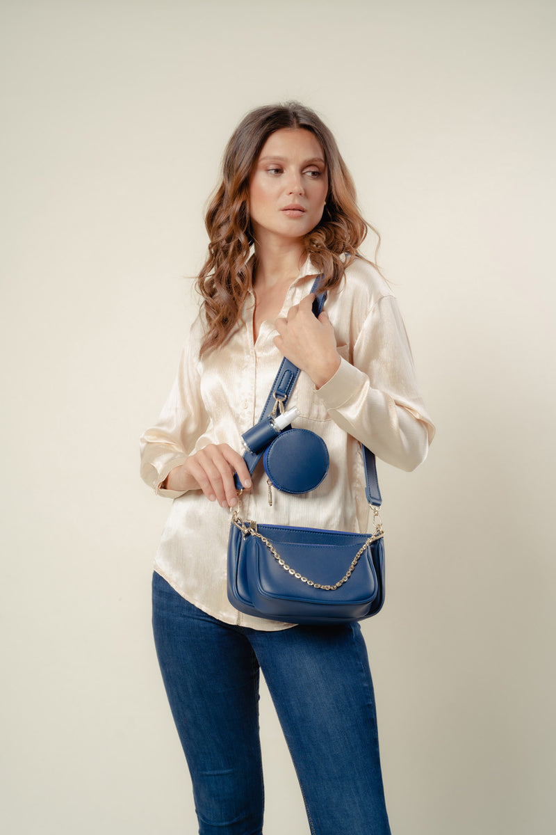 Zoe Crossbody (NAVY)