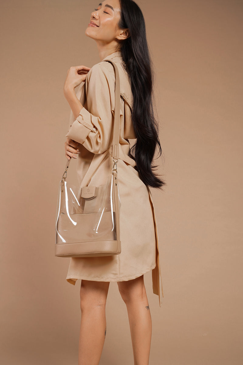 TIFFANY PPE TRENCH & HOODIE (BEIGE)