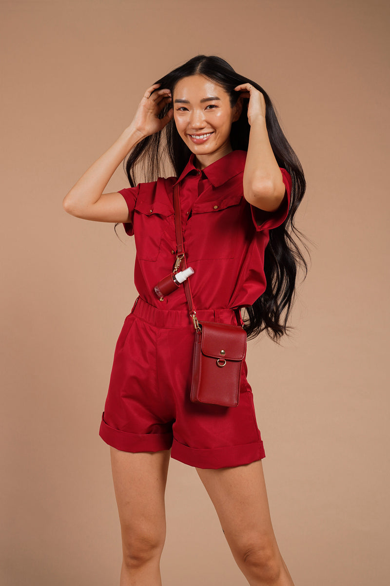 JESSI PPE CO-ORDS (RED)