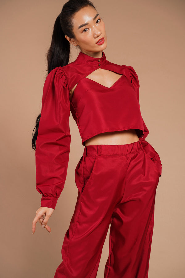 HALSEY 3 PC. PPE SUIT (RED)
