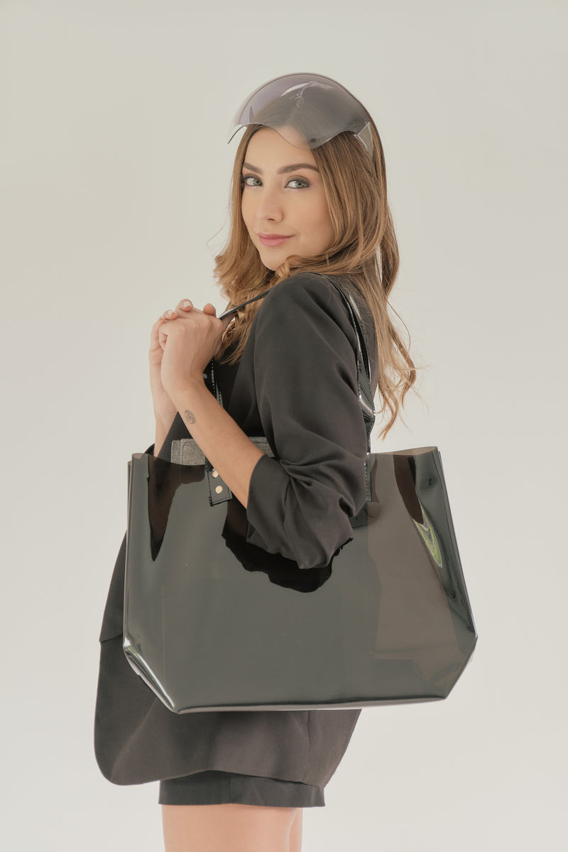 CLARITY TOTE (BLACK)