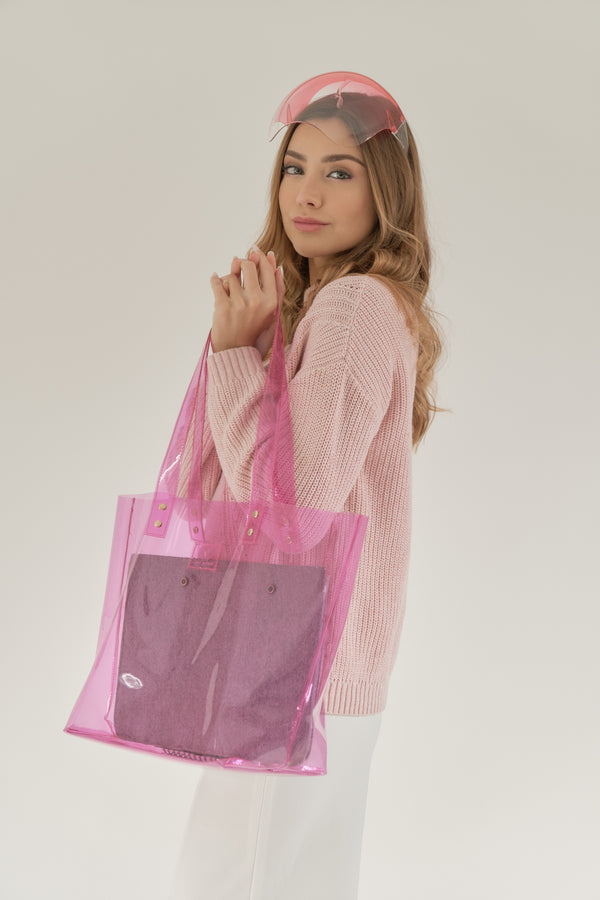 CLARITY TOTE (PINK)