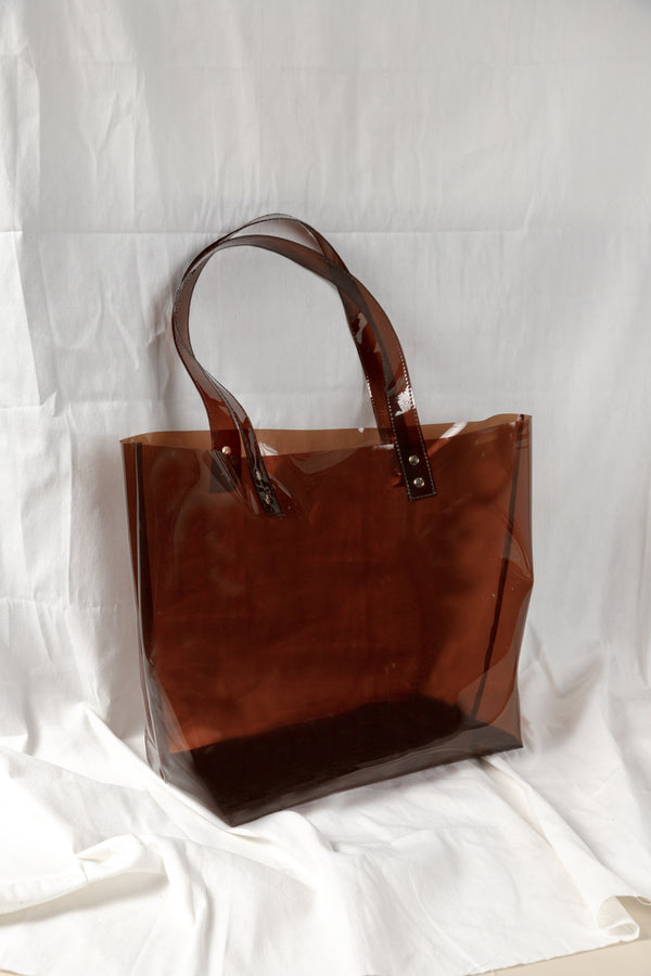 CLARITY TOTE (BROWN)