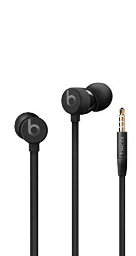 Urbeats3 Wired Earphones With 3.5mm Plug - Tangle Free Cable, Magnetic Earbuds, Built In Mic And Controls - Black