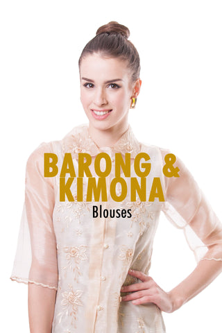 BW Barong and Kimona Blouses Collection