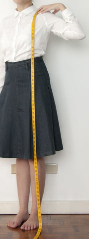 BW - Women's Dress Length Measurement