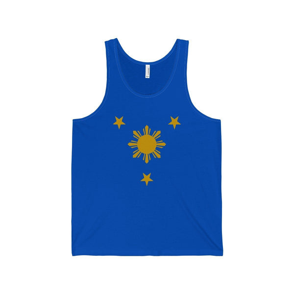 Three Stars & Sun - Unisex Jersey Tank 7 Colors Available True Royal / Xs Top