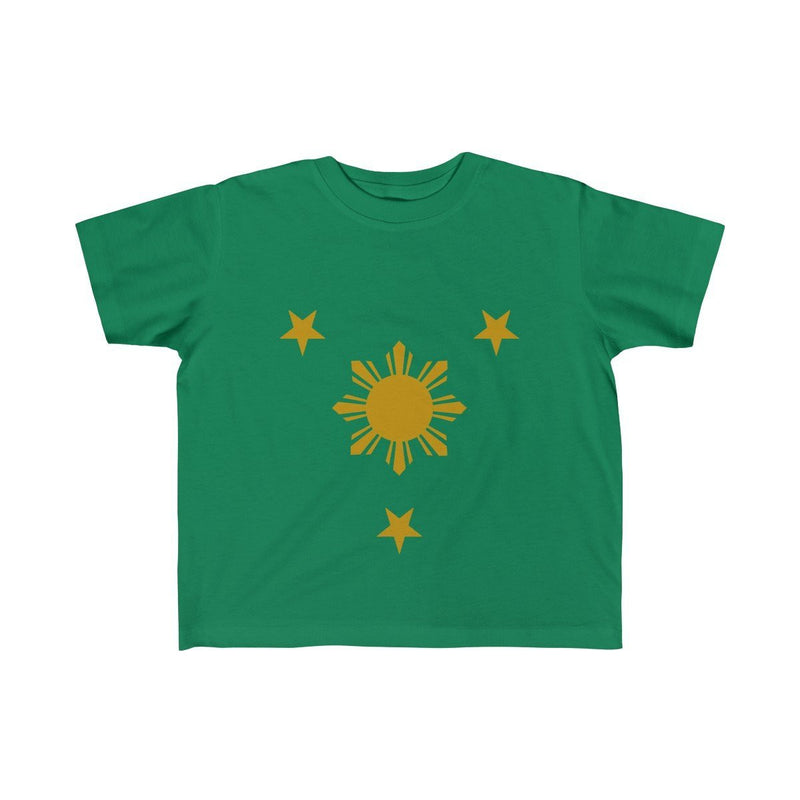 Three Stars & Sun - Kids Fine Jersey Tee 5T-6T / Kelly Clothes