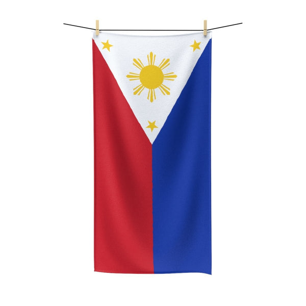 Filipino Flag - Polycotton Towel 30X60 Home Decor