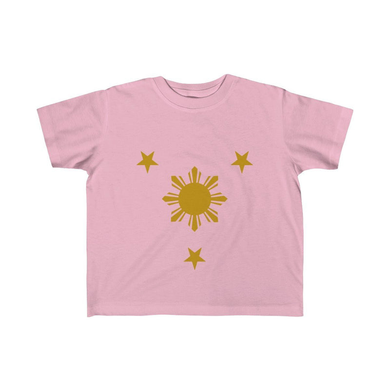 Three Stars & Sun - Kids Fine Jersey Tee 5T-6T / Pink Clothes