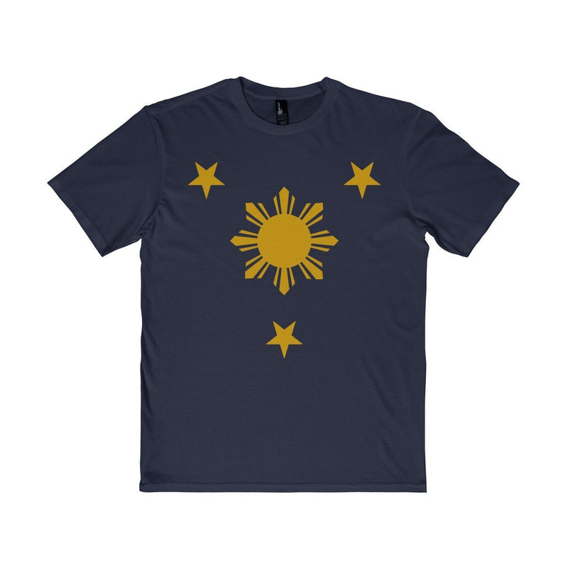 Three Stars & Sun - Unisex District T-Shirt 7 Colors Available New Navy / Xs