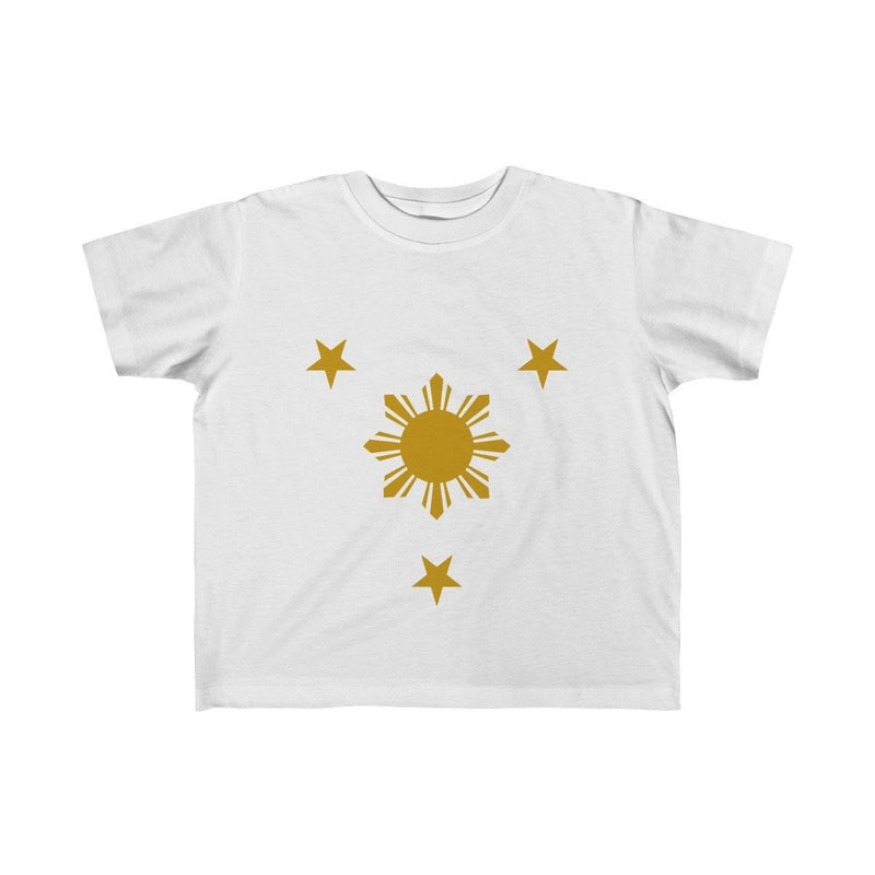 Three Stars & Sun - Kids Fine Jersey Tee 5T-6T / White Clothes