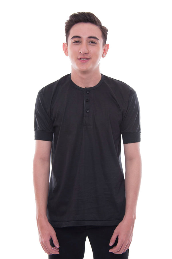 Camisa De Chino - Short-Sleeve Black Shirts