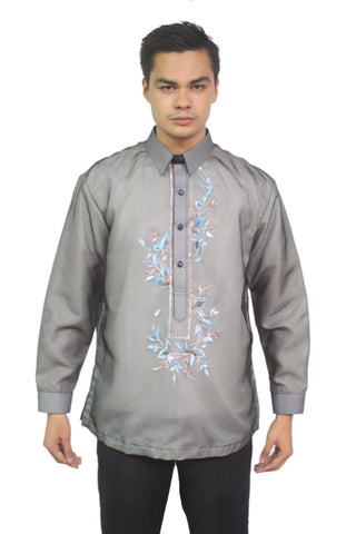 Henry Edwards in a Painted Organza Barong. $49.99 at Barong Warehouse