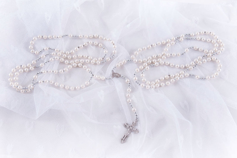 Wedding Unity Cord With Rosary 005
