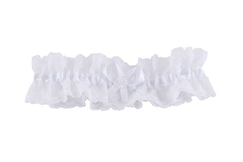 Pre-Order - Wedding Garter White