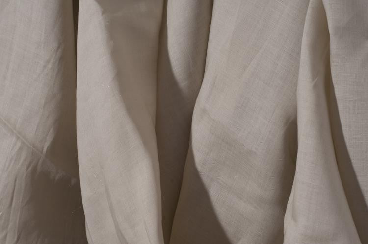 Linen Fabric (No-Embroidery) Tan