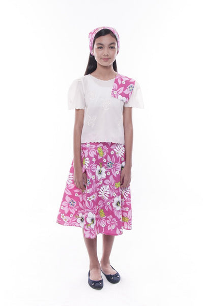 Pre Order Girls Baro T Saya Pink Set 001 Barong Warehouse
