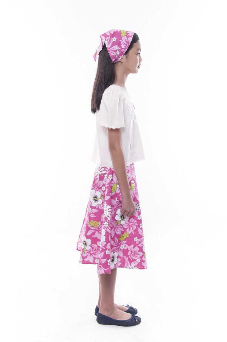 Pre-Order - Girls Barot Saya Pink Set 001 Costume