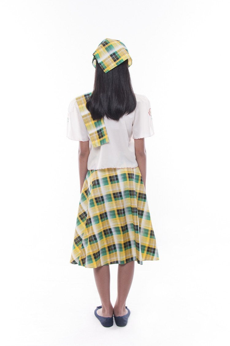 Pre-Order - Girls Barot Saya Green Set 002 Costume