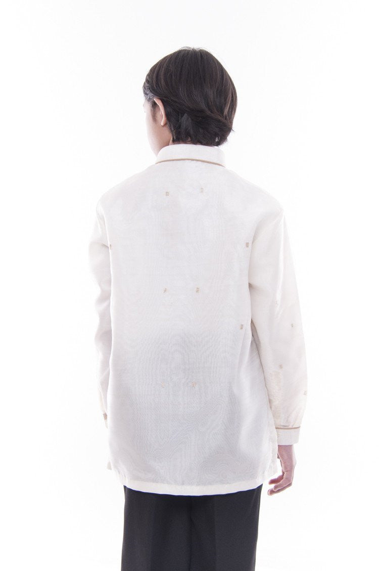Pre-Order - Boys Jusilyn Barong Tagalog With Lining 005