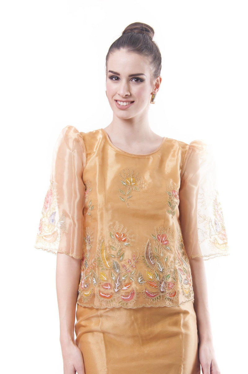 Pre-Order - Barot Saya With Alampay 001 Filipiniana Womens Set