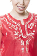 Womens Kimona Red 001 - Filipiniana