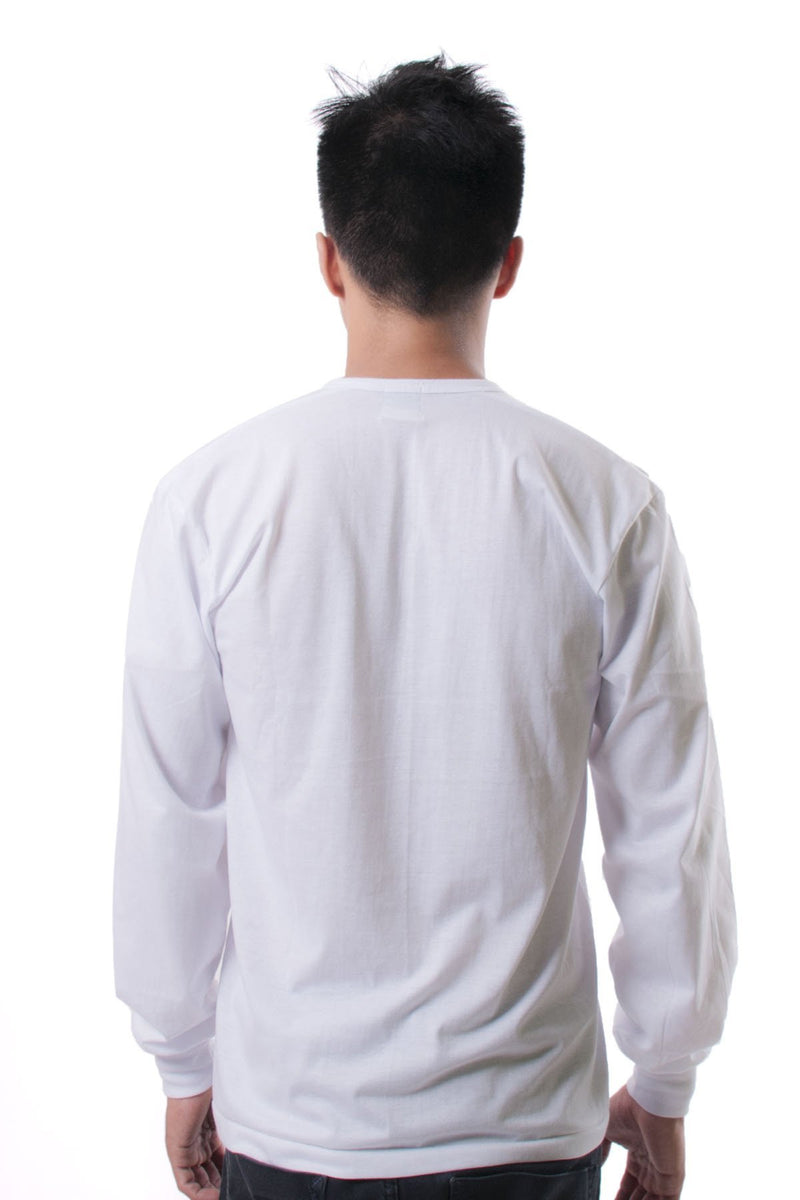 Camisa De Chino - Long-Sleeve White Shirts