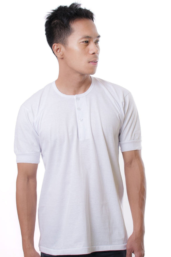 Camisa De Chino - Short-Sleeve White Shirts