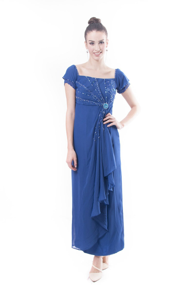 Pre-Order - Filipiniana Rosal Gown Dress