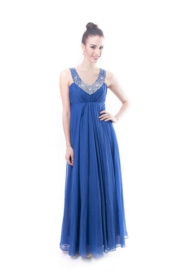 Pre-Order - V-Neck Gown Dress
