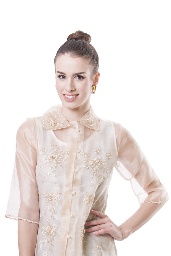 Womens Barong 002 - Filipiniana
