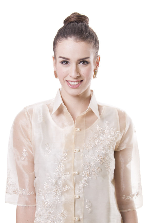 Womens Barong 001 - Filipiniana