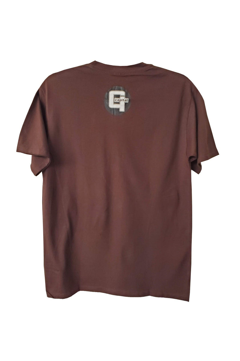 Capital G - Panda Skate Brown Tee