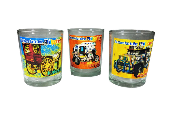 Philippines Shot Glass - Set Of 3 Handicrafts