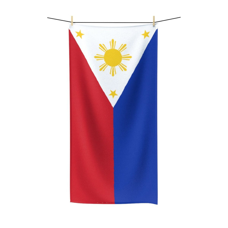 Filipino Flag - Polycotton Towel 36X72 Home Decor