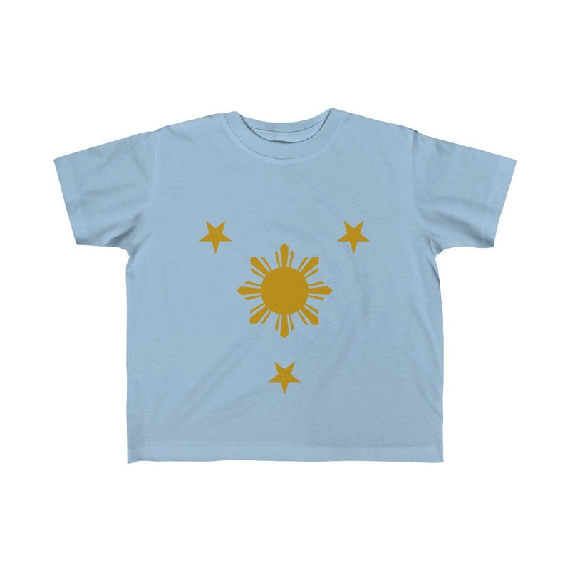 Three Stars & Sun - Kids Fine Jersey Tee 5T-6T / Light Blue Clothes
