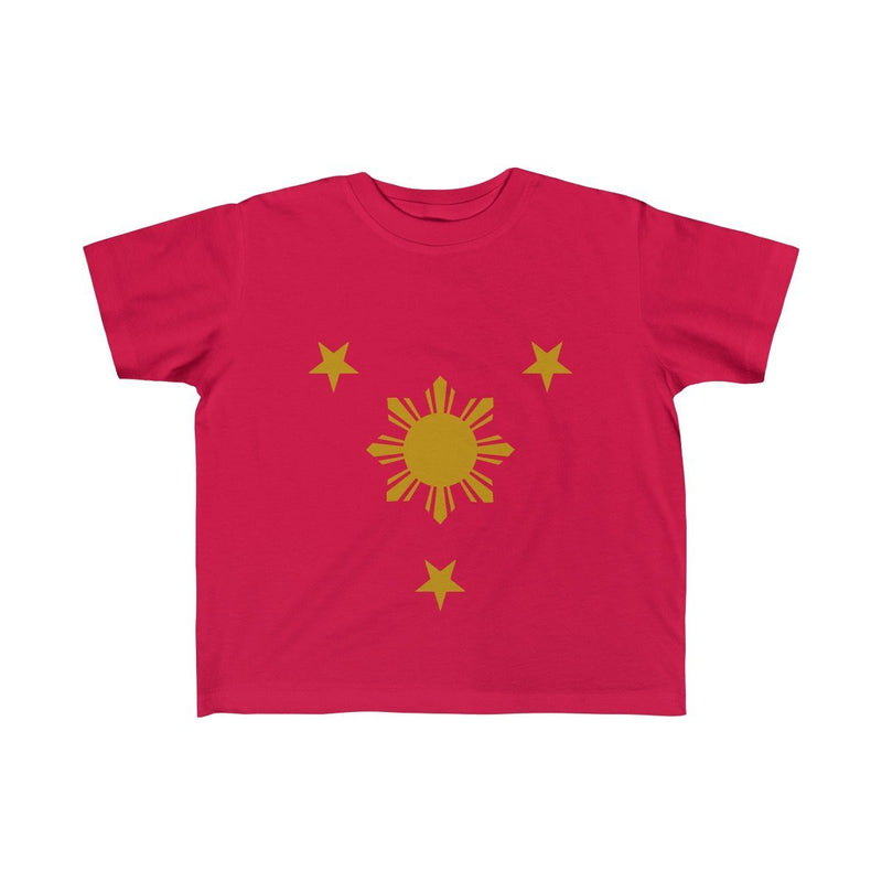 Three Stars & Sun - Kids Fine Jersey Tee 5T-6T / Red Clothes