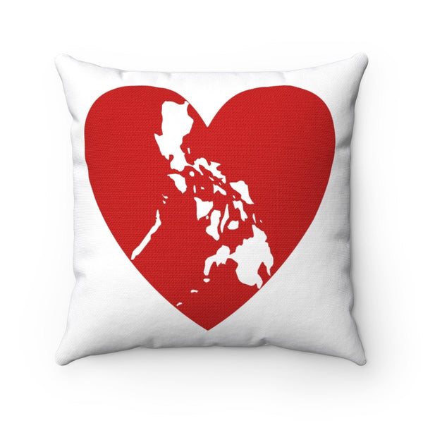 Pusong Pinoy - Square Pillow 14X14 Home Decor