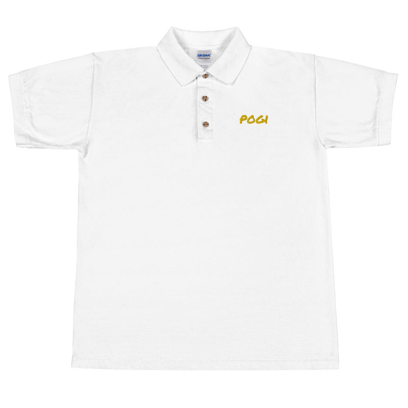 POGI Embroidered Polo Shirt