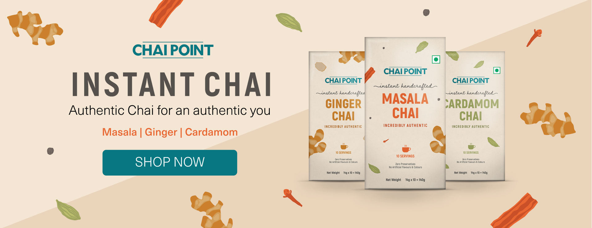 Instant Chai Collection