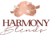 harmony blends tea blend logo tea leaves australia