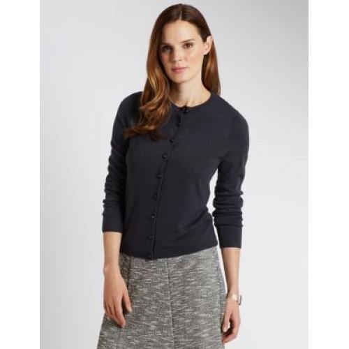 M&S Ladies F/S Cardigan T38/8260
