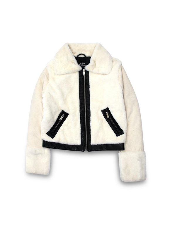 Imported Ladies Faux Fur Jacket - enemmall.com