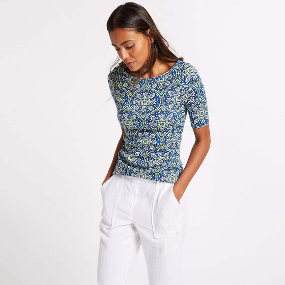 M&S Ladies Printed Top T41/1583