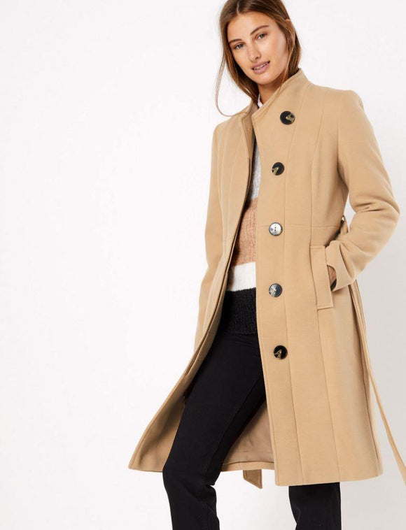 M&S Ladies Polyester Long Coat T49/1863