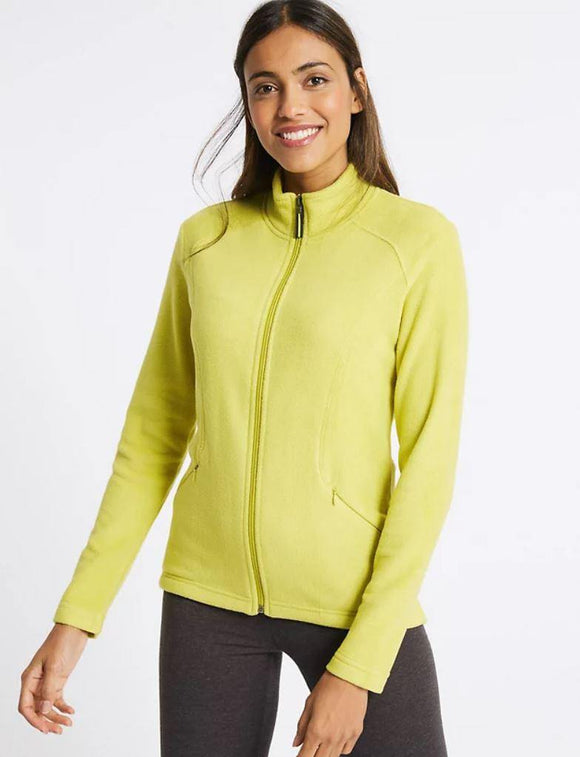 M&S Ladies Flees Zipper T49/8022