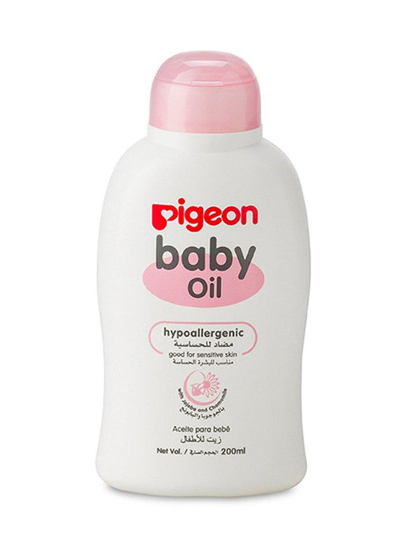 Pigeon Baby Oil 200ml  08513 (A) - enemmall.com