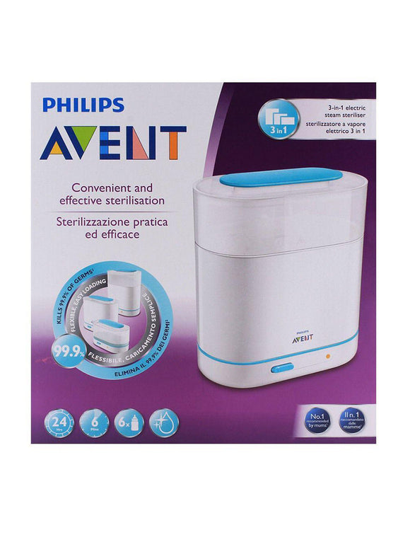 AP Baby Natural Electric Steam Sterlizer 3 in1 SCF284/02 (ID911) (A+) - enemmall.com